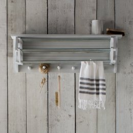 Extending Clothes Dryer - Chalk