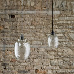 Hanging Clear Glass Pendant Light