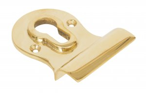Polished Brass Euro Door Pull image