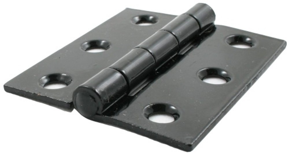 "Black 3"" Butt Hinge (pair) image"