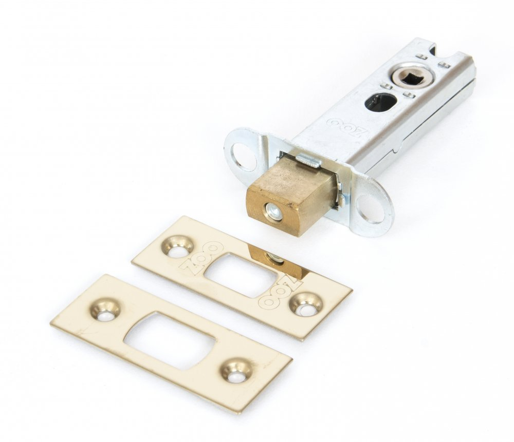 Brass 3'' Heavy Duty Tubular Deadbolt image