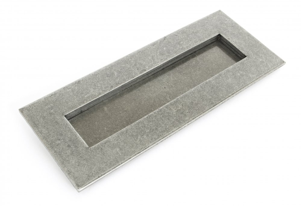 Pewter Small Letterplate image