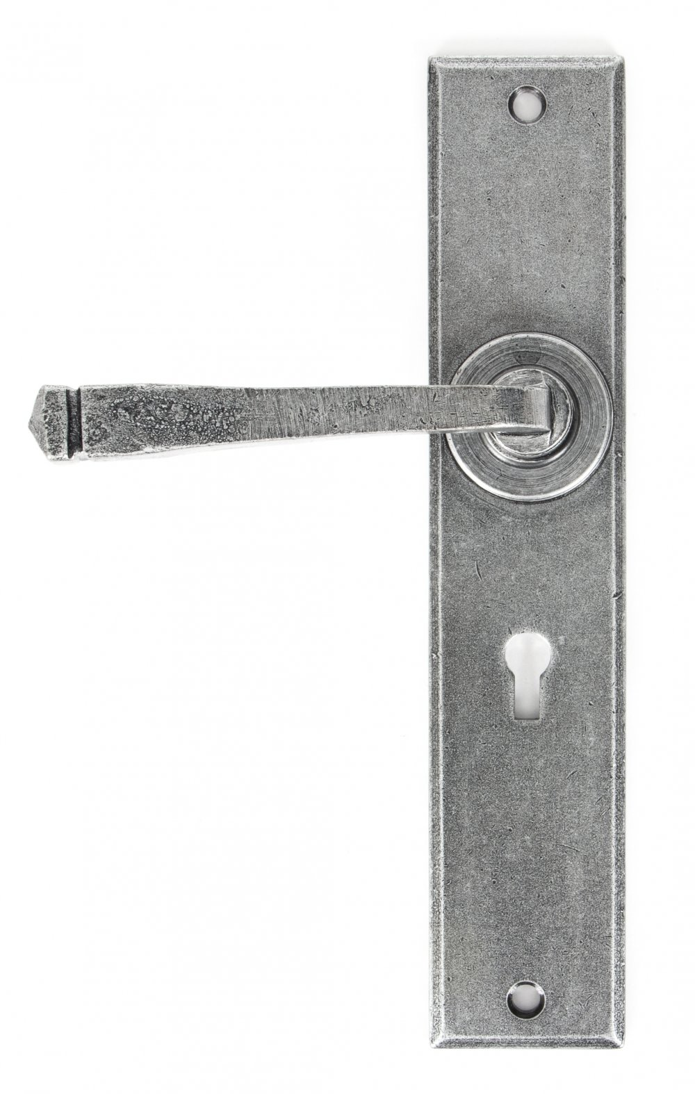 Pewter Large Avon Lever Lock Set image