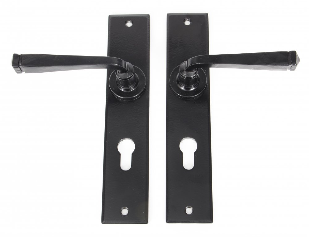 Black Large Avon 72mm Euro Lock Set image