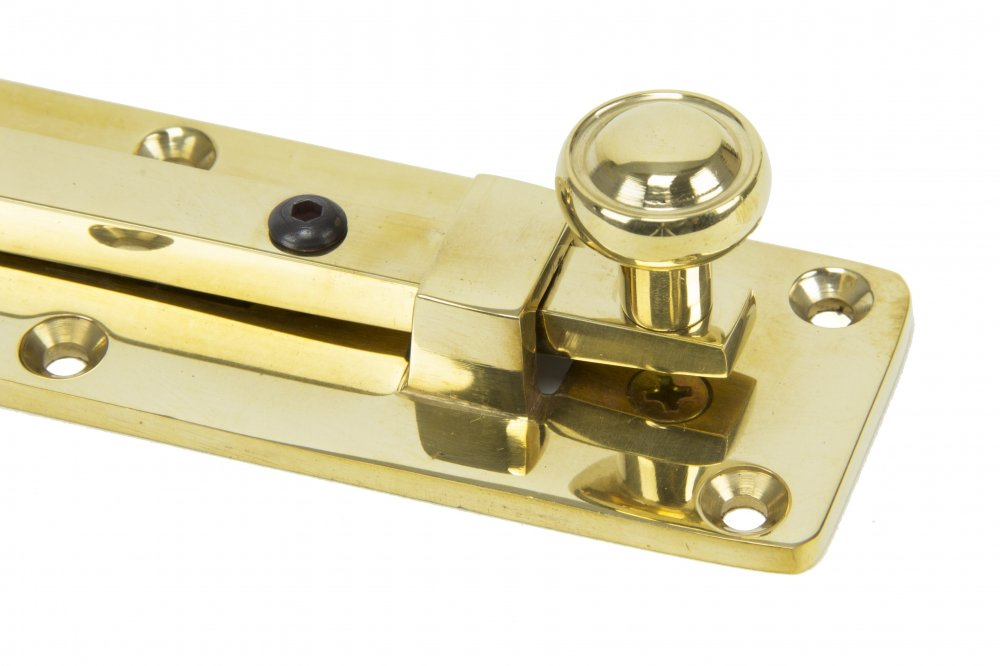 "Polished Brass 6"" Universal Knob Bolt image"