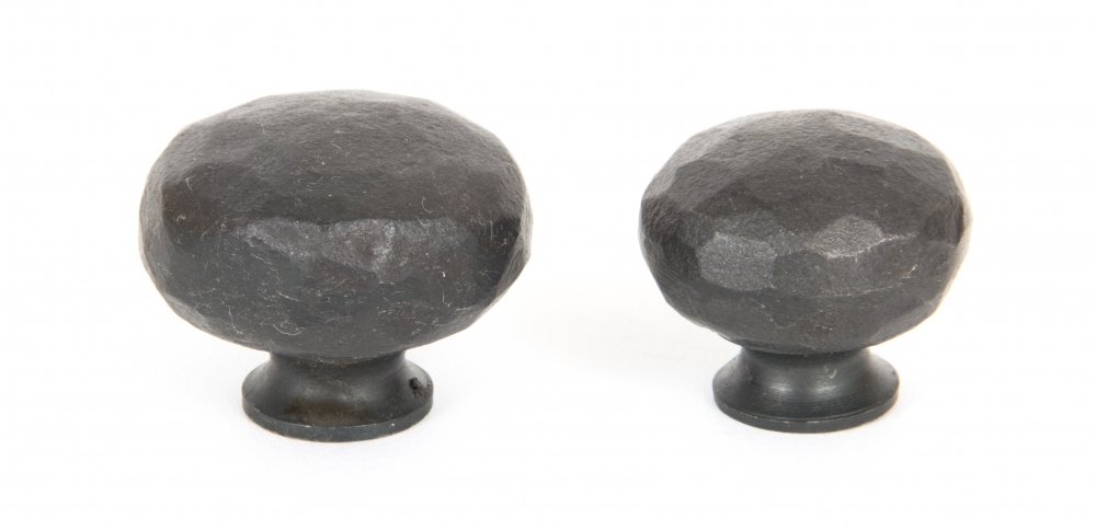 Beeswax Hammered Knobs - Small image