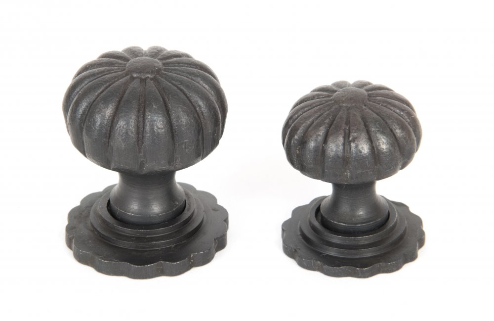 Beeswax Cabinet Knob with Base - Large image