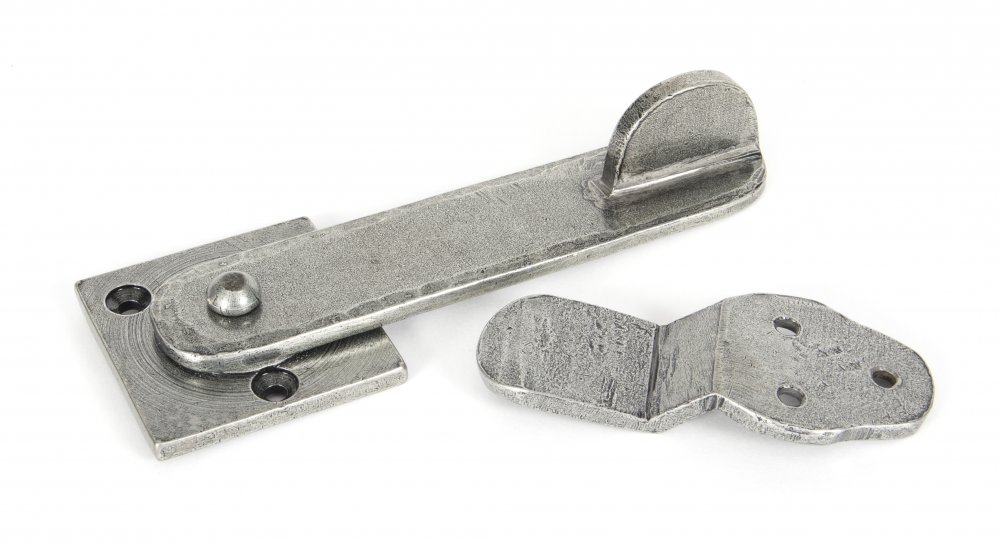 Pewter Patina Privacy Latch Set image