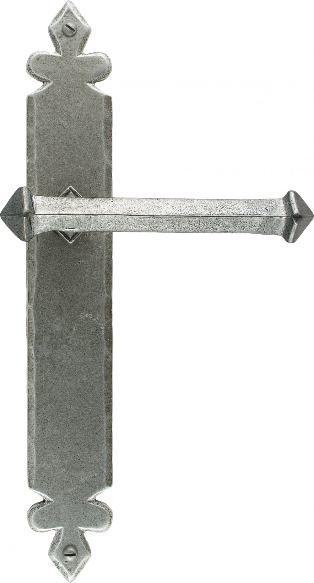 Pewter Tudor Lever Latch Set image