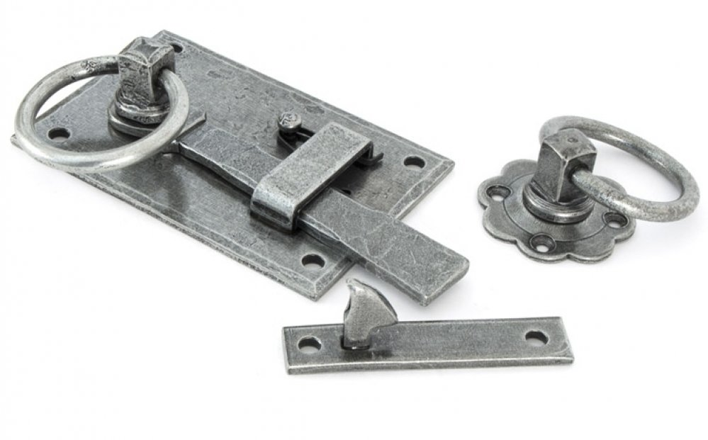 Pewter Cottage Latch - LH image