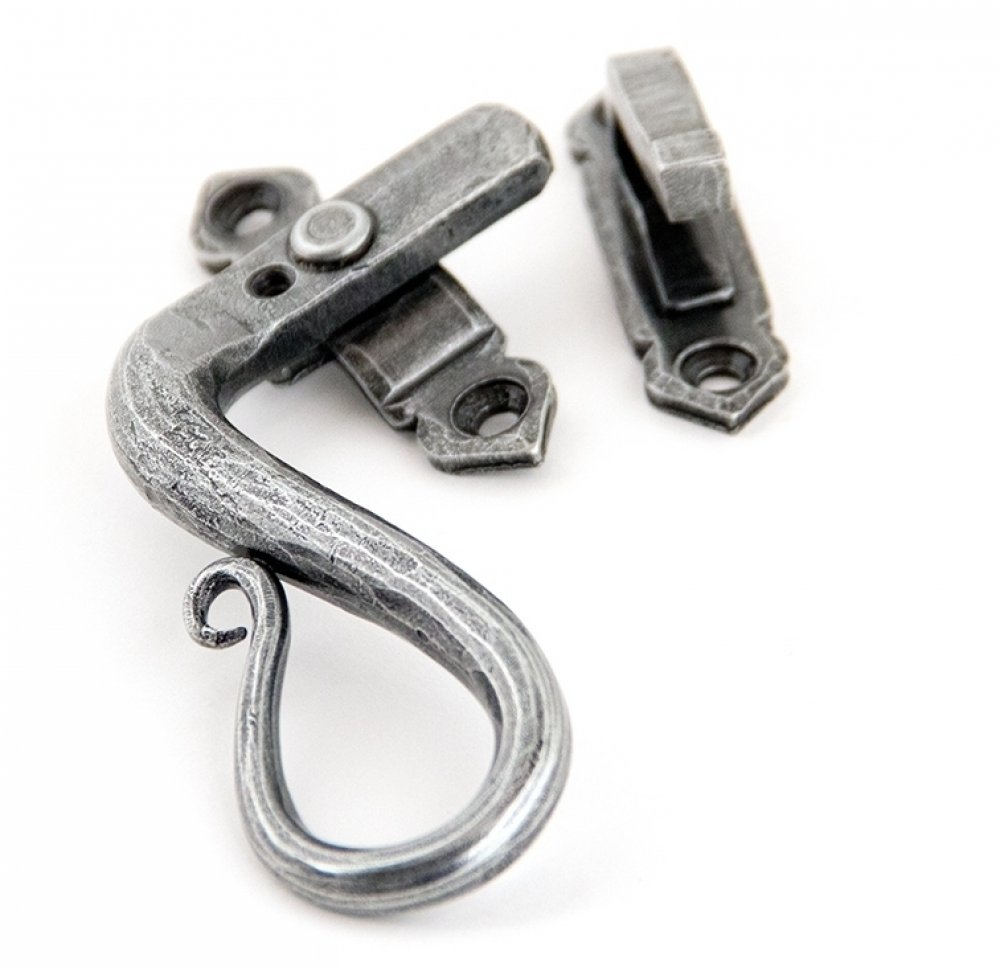 Pewter Shepherd's Crook Fastener LH - Locking image