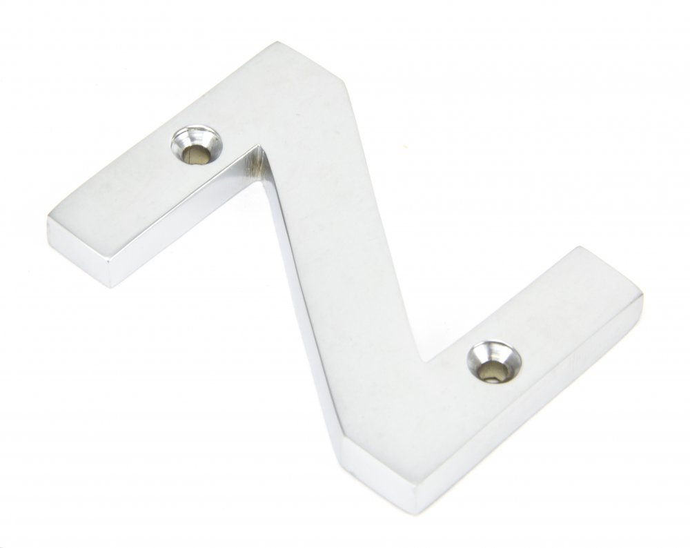 Satin Chrome Letter 'Z' image