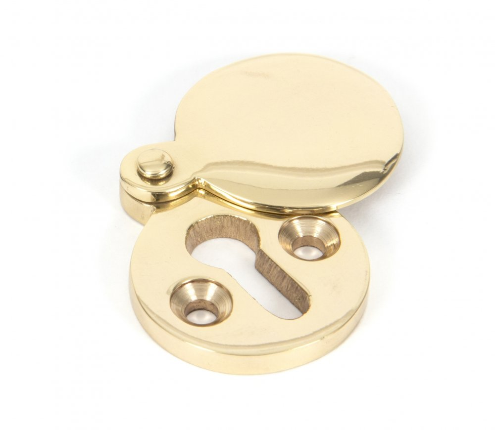 Polished Brass Round Escutcheon image