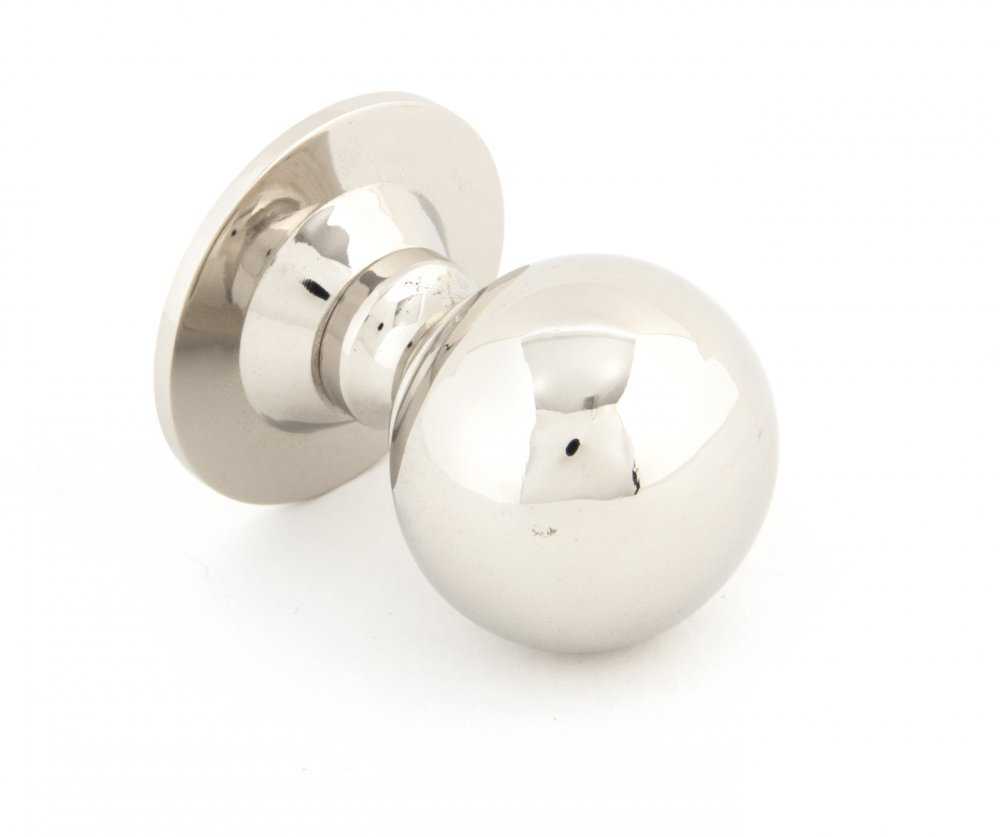 Polished Nickel Ball Cabinet Knob - Small image