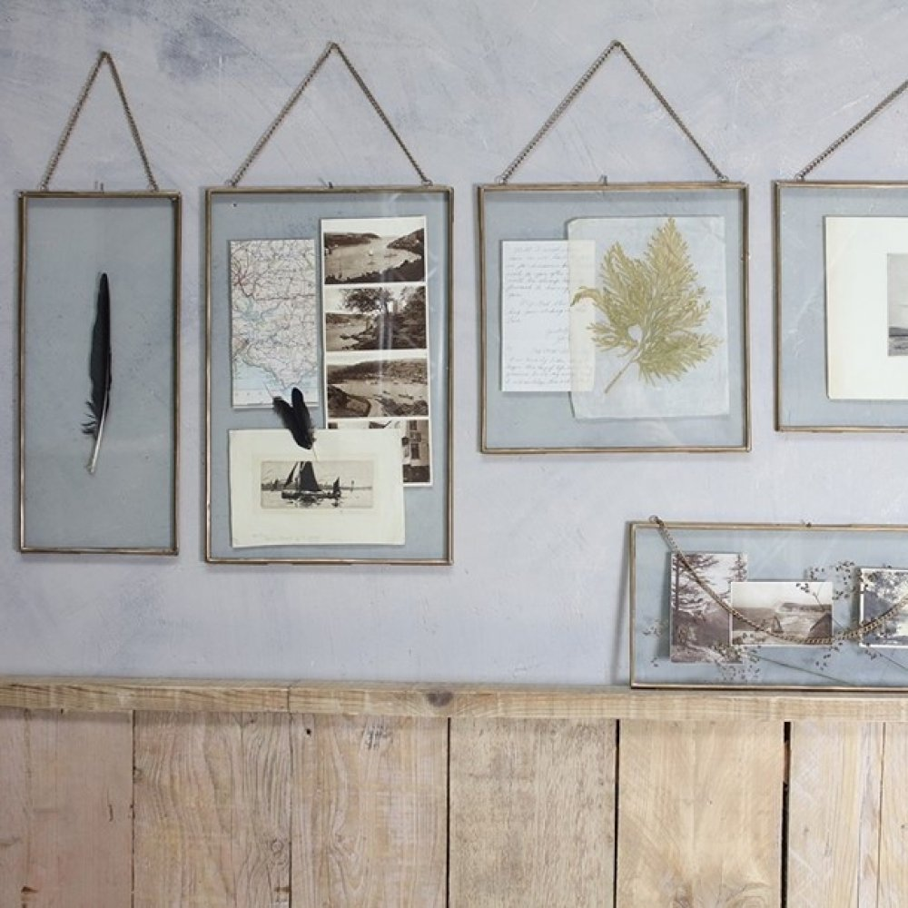 Gigantic Glass Frames - Brass - Grace and Glory Home