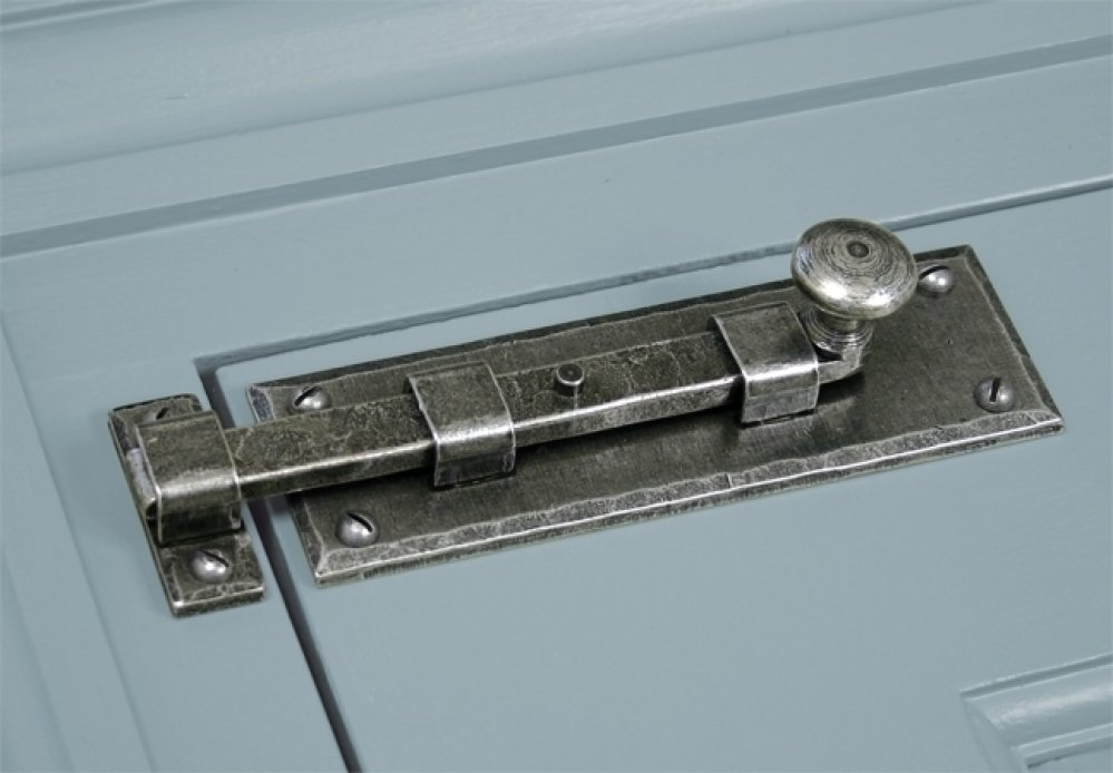 Pewter 6'' Straight Knob Bolt image
