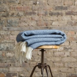 Denim Blue Throw