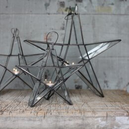 Star Tealight Holder - Zinc