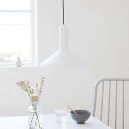 Mall Pendant Light - White
