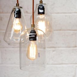 Glass Pendant Light  - save 20%