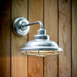 St Ives Galvanised Mariner Light - save 15%