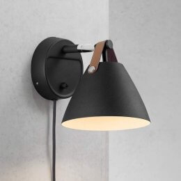 Nordic Black Wall Light