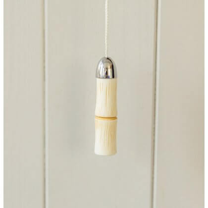 Bamboo Style Light Pull from Turnstyle - Ochre SAVE 60%