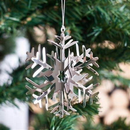 Snowflake Decoration - Set of Four