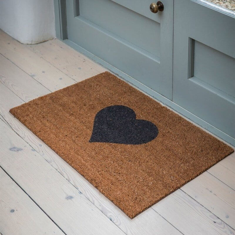 Heart Door Mat