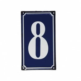 French Style Metal Door Number 8 - SAVE 50%