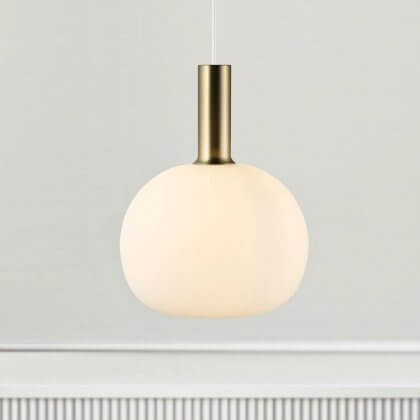 Opal Glass Pendant Light