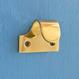 Sash Window Lift - Pressed Brass