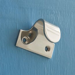 Sash Window Lift - Pressed Polished Nickel