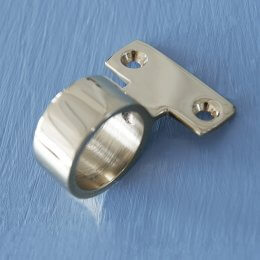 Ring Sash Window Lift - Polished Nickel