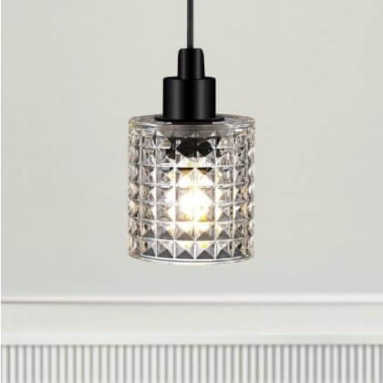 The Crystal Pendant Light - Clear Glass