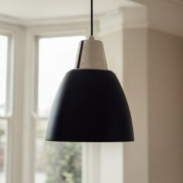 Noah Pendant Light - Black save 50%