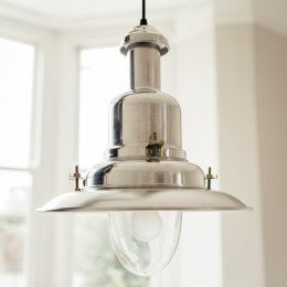 Fishing Pendant Light Large - Aluminium
