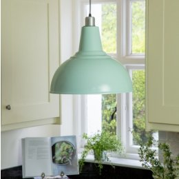 Large Kitchen Pendant Light - Sea Spray save 30%