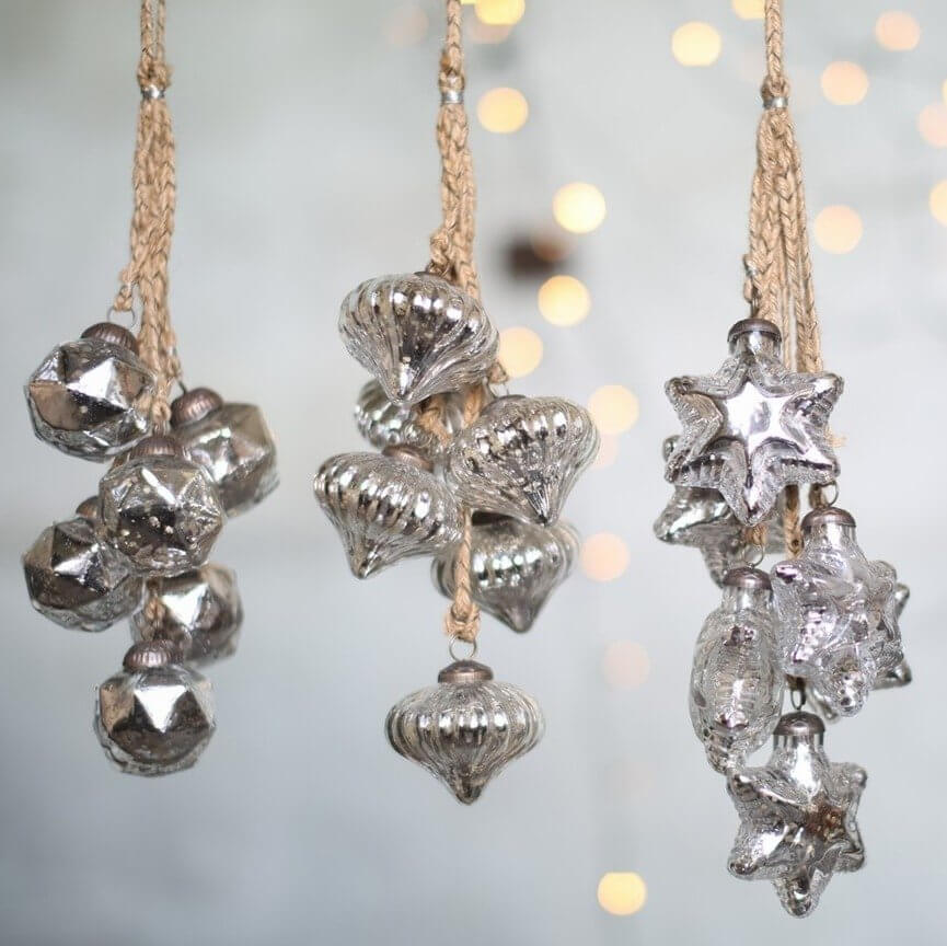 Antique Silver Bauble Bundles - SAVE 50%