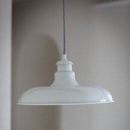 Toulon Pendant Light - Chalk save 20%