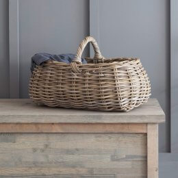 Rattan Forage Basket
