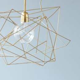 Asymmetric Pendant Light - Brass