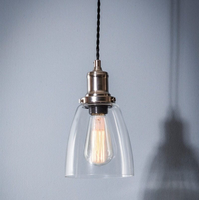 Hoxton Glass Pendant Light - Dome