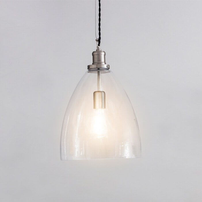 Hoxton Glass Pendant Light - Bullet save 15%