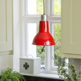 Mirada Pendant Lamp - Red save 50%