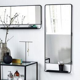 Mirror with Shelf - save 20%