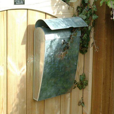 Post Box - Galvanised