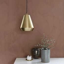 Hood Brass Pendant Light