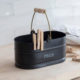 Peg Bucket - Carbon