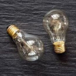 Filament Light Bulb - Pear Shape